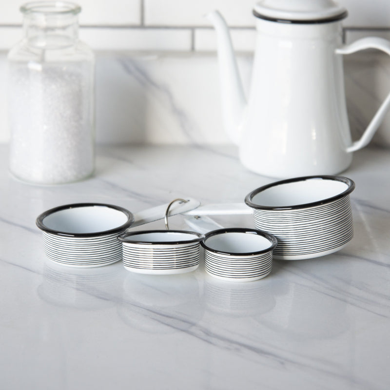 Enamelware Measuring Cups Set