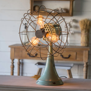 METAL FAN LAMP