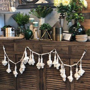 Cream Tassel Garland