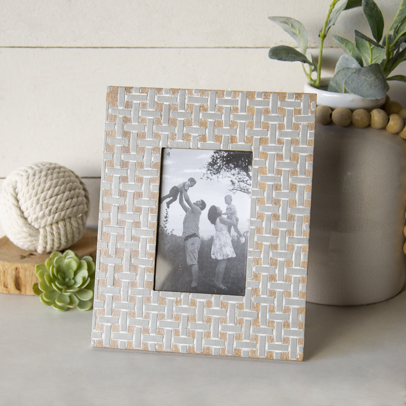 Gray/Tan Frame 4x6
