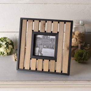 Wood Slat Frame 4x4