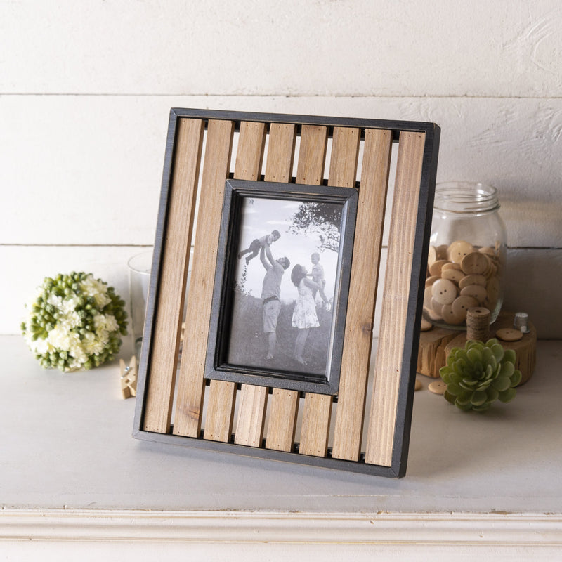 Wood Slat Frame 4x6