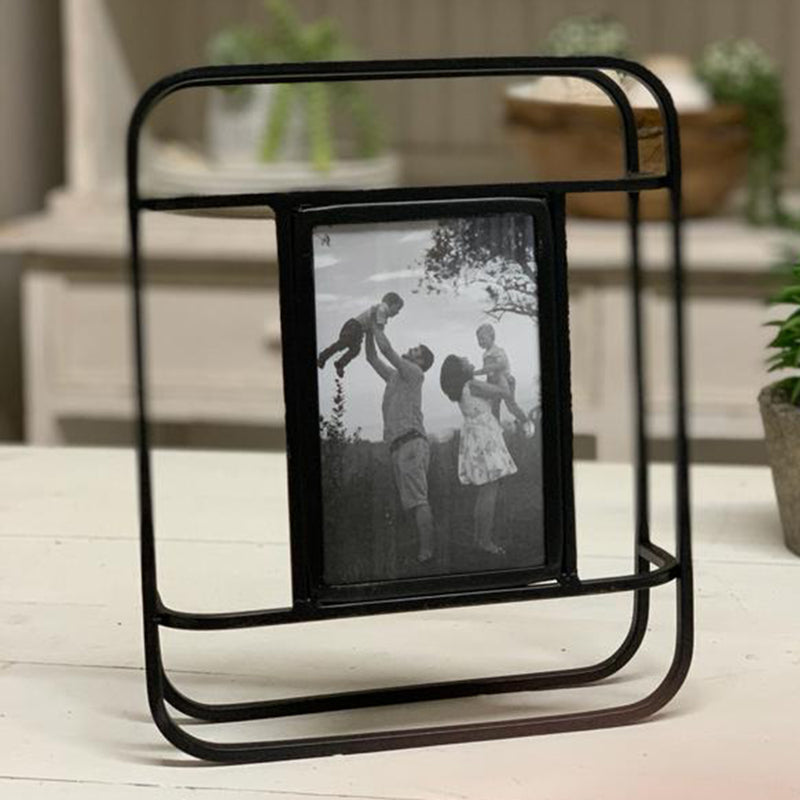 Metal Framed 4x6 Picture Frame