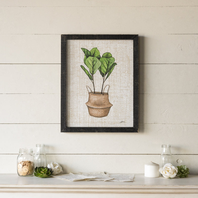 Fiddle Leaf Fig Art 19.75