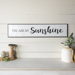 """Sunshine"" Sign 38"""