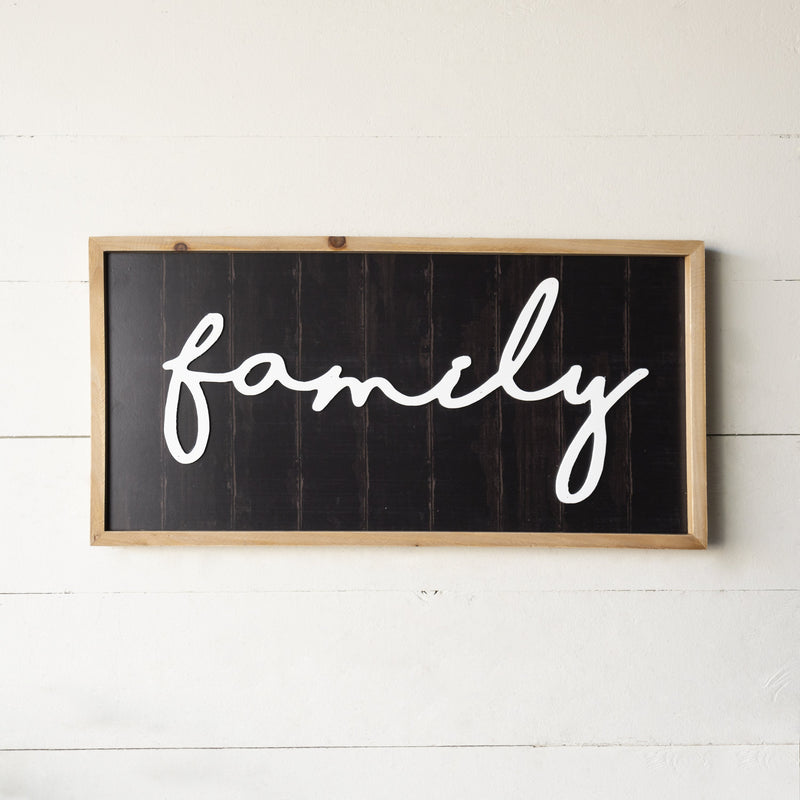 """Family"" Sign 23.75"""