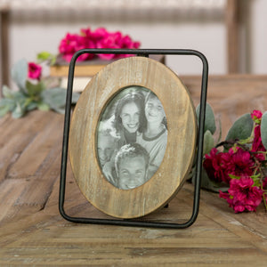 Wood/Metal Picture Frame 4X6