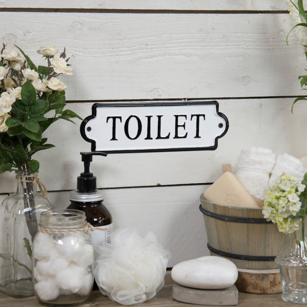 Toilet Enamel Sign Rod Works Online