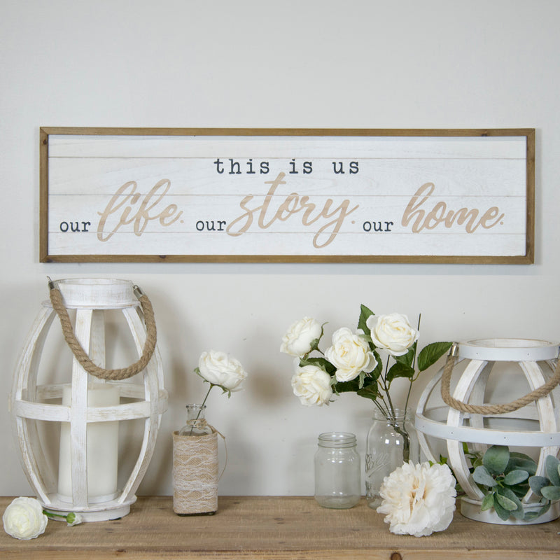 This Is Us Shiplap Sign