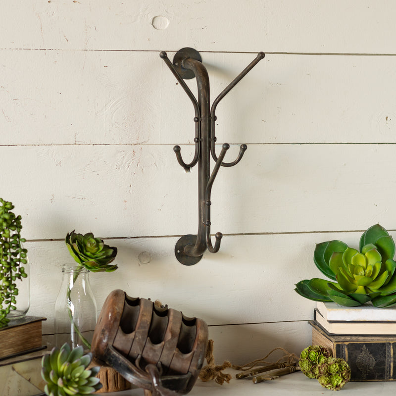 Metal Hook with Antique Finish