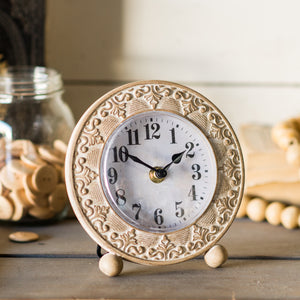 Wood Table Clock