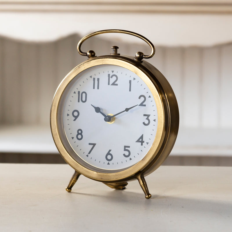 Gold Table Clock 9