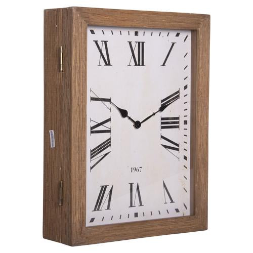 Wood Clock with Bracket 23
