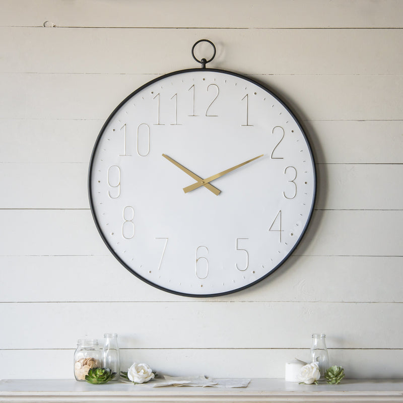 Metal Wall Clock 34