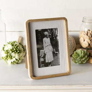 Wooden Framed Frame 9""