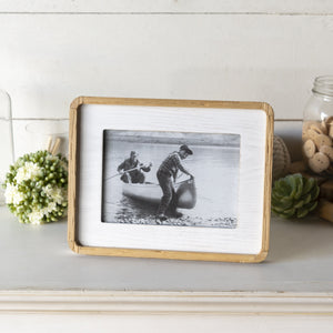 Wooden Framed Frame 9.5""