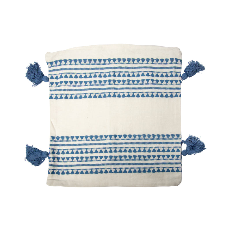 Cotton Pillow Cover with Pillow Insert Not Included