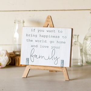 "Sign ""Family"""