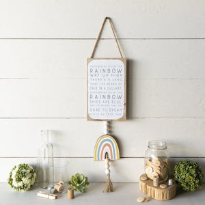 Over the Rainbow Signs 26""