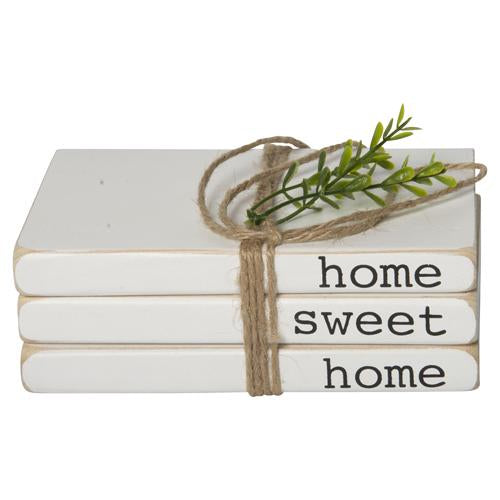 """Home Sweet Home"" Book Sign 7"""