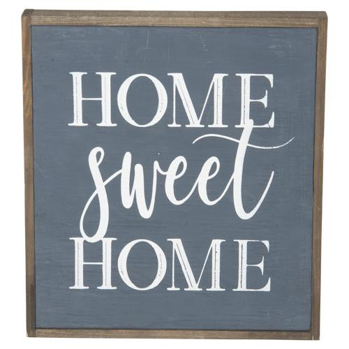 """Home Sweet Home"" Sign 12"""