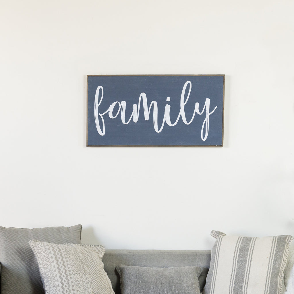 """Family"" Sign 31.5"""