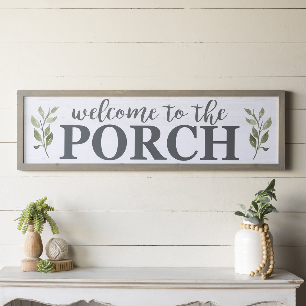 """Porch"" Sign 47"""
