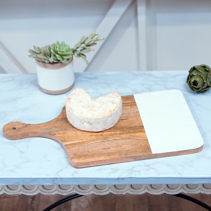 MANGO WOOD SQ CUTTING BOARD