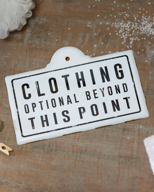 "Sign ""Clothing"""