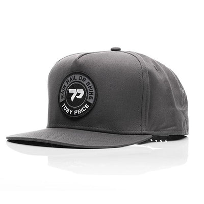 Shine Staple Cap in Grey