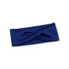 Royal Blue Solid Knotted Headband