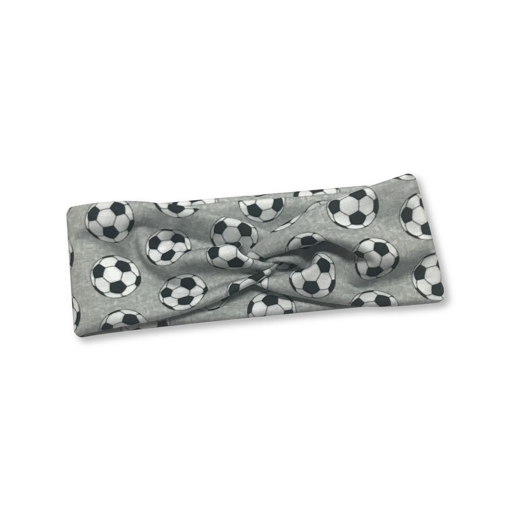 Soccer Knotted Headband
