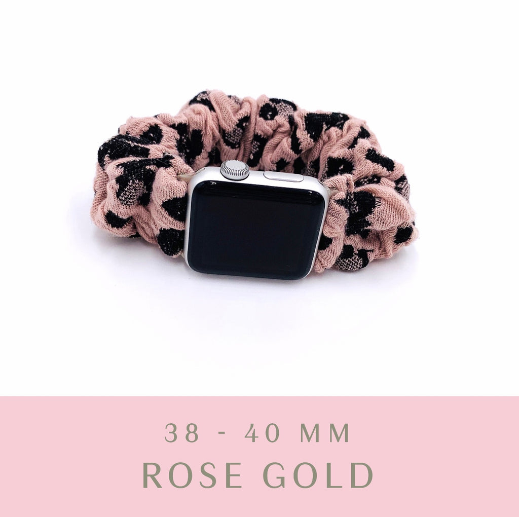 Pink Leopard Apple Watch Band