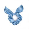 Cornflower Blue Scrunchie Bow