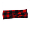 Lumberjack Plaid Top Knot Headband
