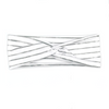 Light Grey Stripes Knotted Headband