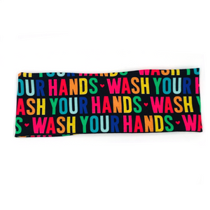 Wash Your Hands Knotted Headband