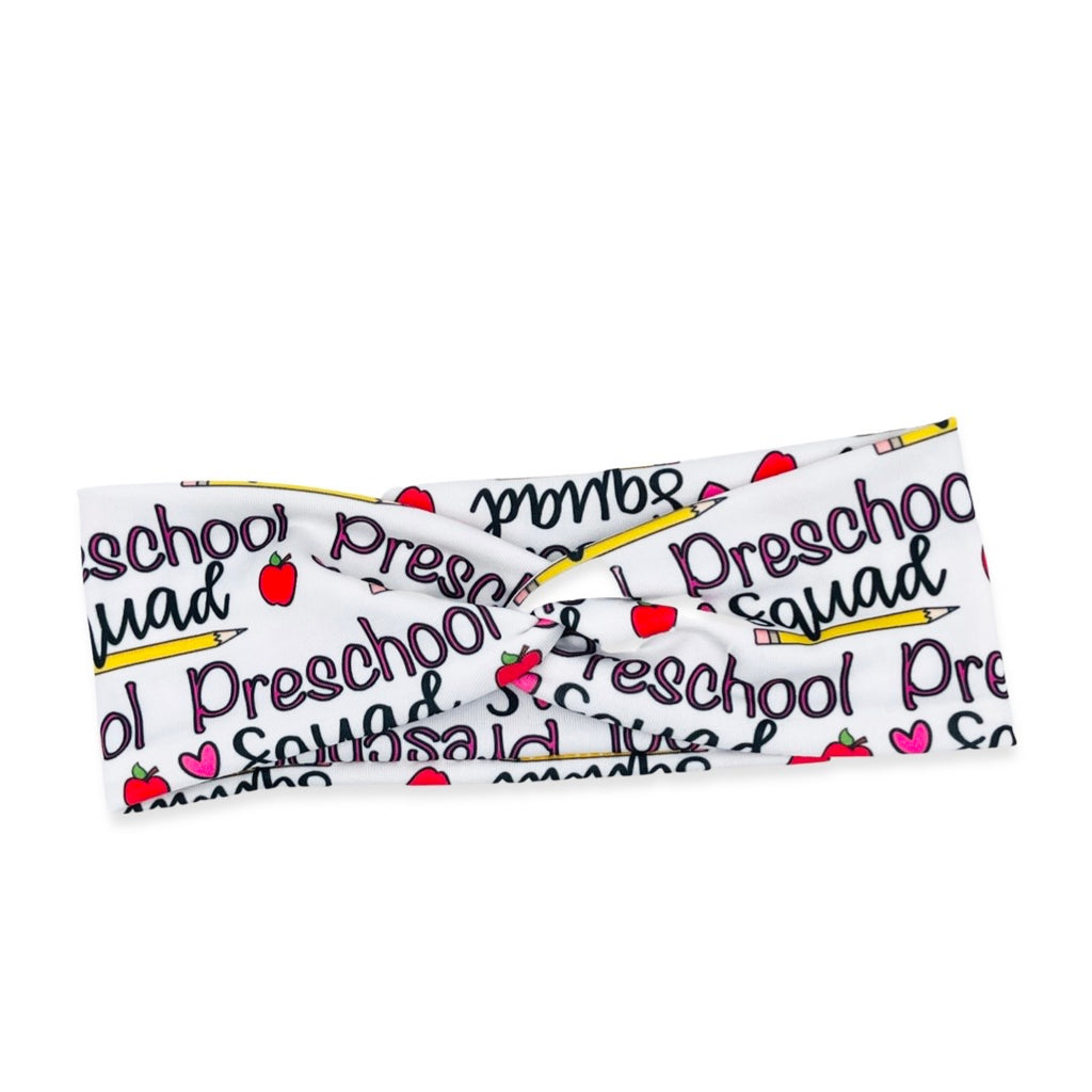 Preschool Squad Knotted Headband