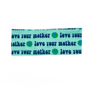 Love Your Mother Earth Knotted Headband