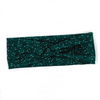Evergreen Spots Knotted Headband