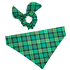 Irish Plaid Doggy and Me Set
