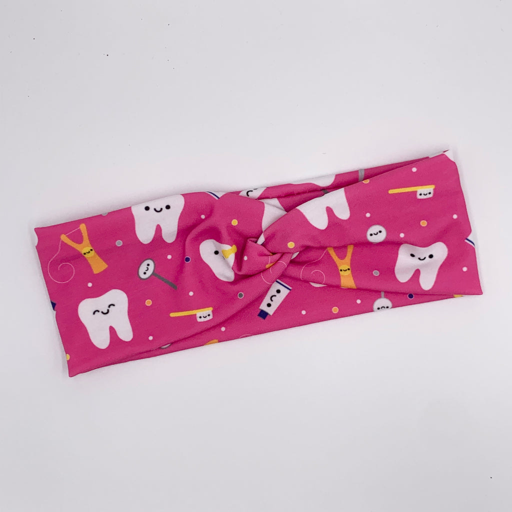 Dental Hygienist Knotted Headband