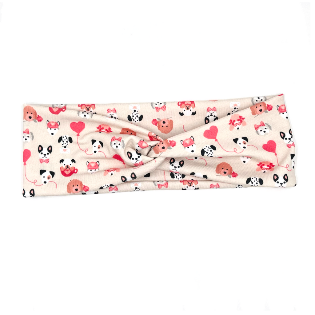 Puppy Love Knotted Headband