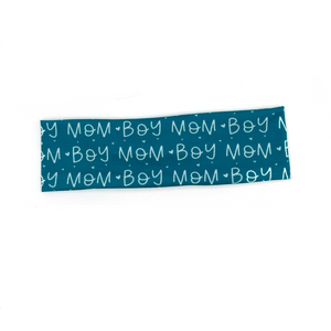 Boy Mom (adult) Knotted Headband