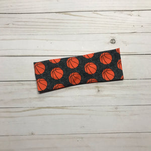 Basketball Knotted Headband