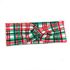Christmas Plaid Knotted Headband