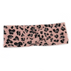 Pink Leopard Sweater Weather Knotted Headband
