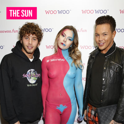 Bobby Norris & Eyal Booker at the woowoo launch party