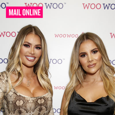 Chloe Sims & Georgia Kousoulou at the WooWoo Launch Party