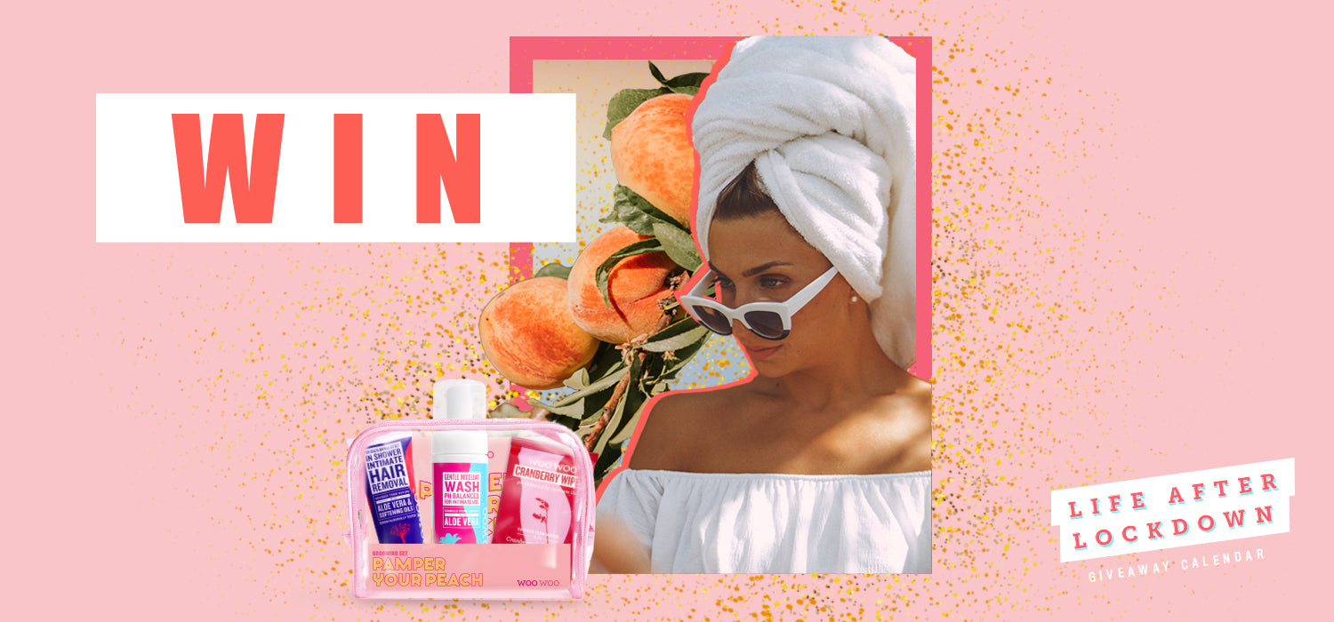 pamper your peach lockdown competition